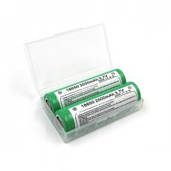 Set of 2 Samsung 18650 25R - 2500 mAh - 20A