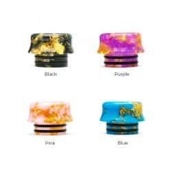 810 Drip Tip Gold Flakes - We Are Vape