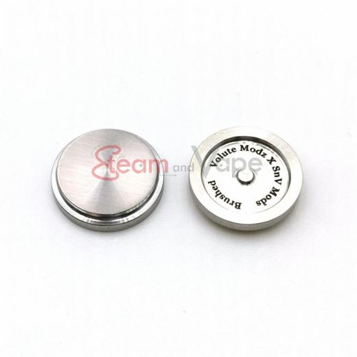 BB Button SS Brushed - SnV Mods & Volute Modz