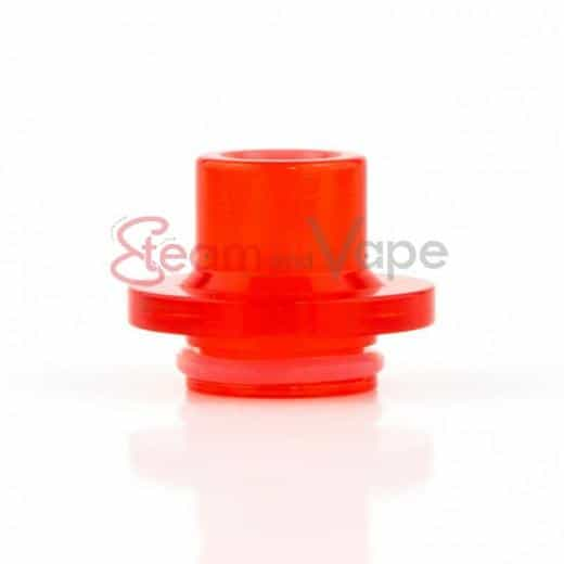 Drip Tip Clear Red NOTOS RDA By Ino Factory