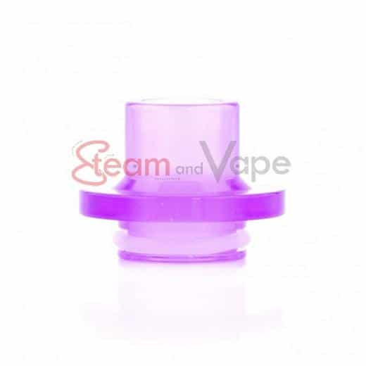 Drip Tip Clear Purple NOTOS RDA By Ino Factory