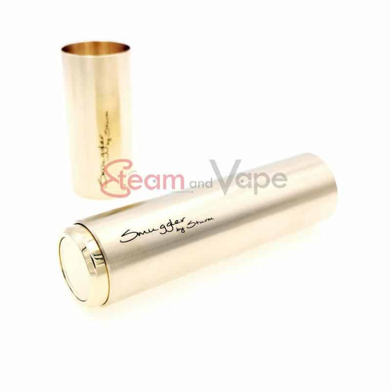 Smuggler Full Brass Kit 18350 & 18650 - Sturm Mods | Mechanical Mod