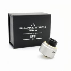 Flave 24 EVO SS Mat Gold Ring - AllianceTech Vapor