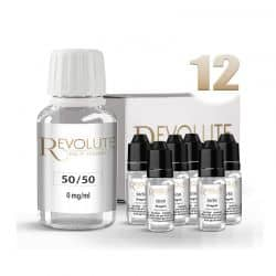 Pack Start 100ml 50/50 12mg/ml - Revolute