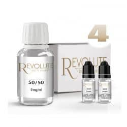 Pack Start 100ml 50/50 4mg/ml - Revolute