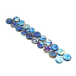 Anodized Titanium Button - Groza Vapors