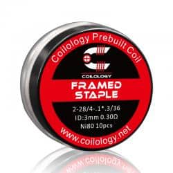 Framed Staple Ni80 (x10) - Coilology
